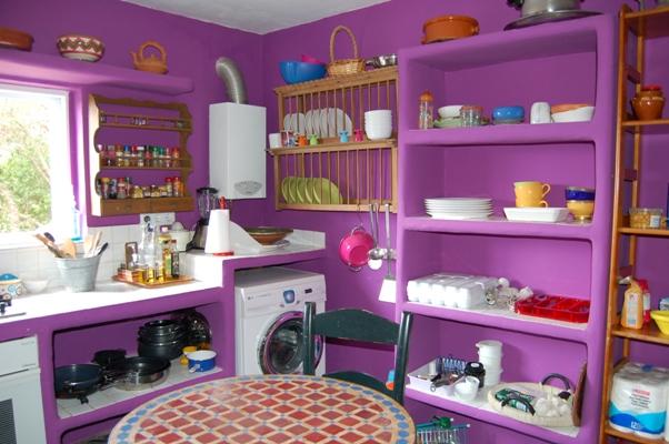 La casa de susana for Cocina unida a salon